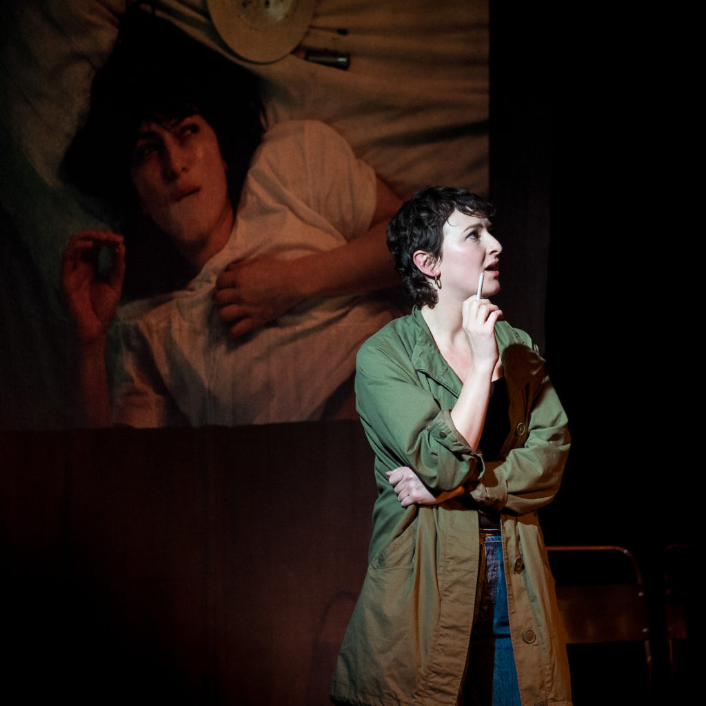 Hester Arden performs The Ballad of Paragon Station. Photo by Jerome Whittingham.